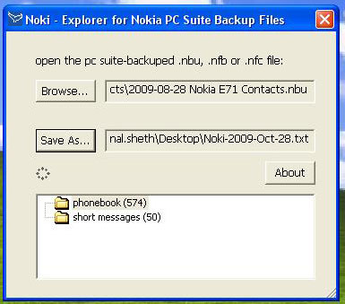 How To] Convert  nbu files to  vcf format - Life's short